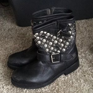 Ash Titan studded boot